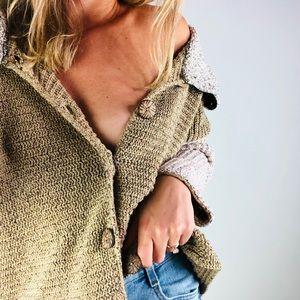 [vintage] MARGARET WINTERS Chunky Knit Cardigan